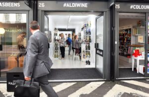 Aldi Pop Up Shop